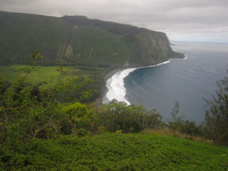 Waipio Valley on the Big Island