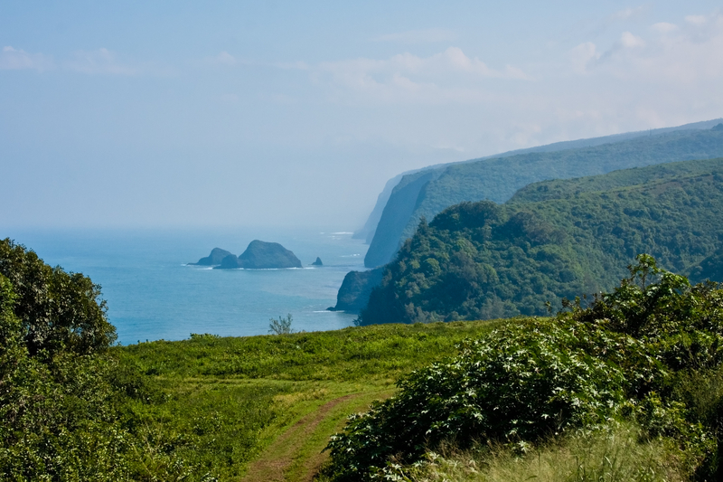 Pololu Valley on the Big Island Hawaii