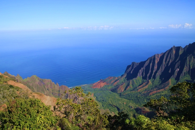 Kalalau Valley Lookout, Kauai