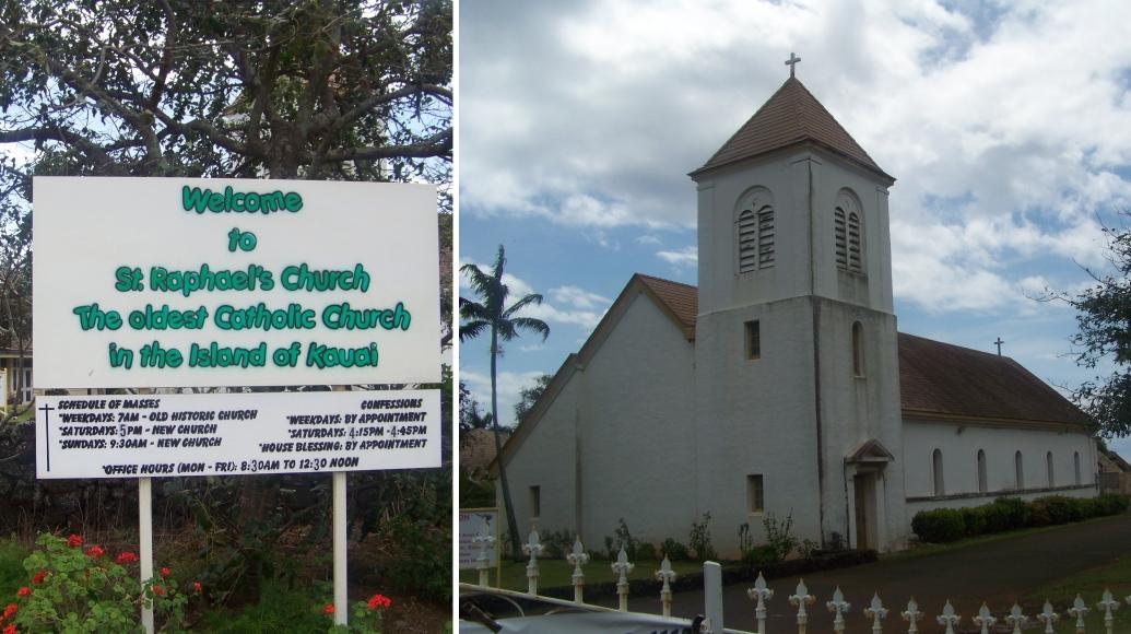 Map of kauais points of interest 50 things to do best things to st rafaels church kauai hawaii solutioingenieria Choice Image